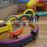 2016 inflatable air track,inflatable go karts race track air mat for kids games