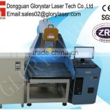 3D Dynamic focus large-scale laser marking machine for wood,acrylic,jeans,leather GLD-275 with CE&SGS