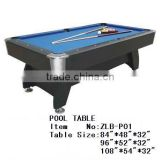 MDF pool table / billiard table