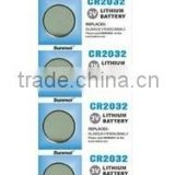 Lithium button cell battery CR2016, CR2032,CR2025, CR2450 etc                                                                         Quality Choice