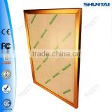 Slim advertising lighted aluminum light box profile