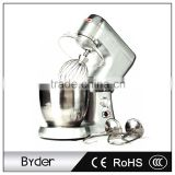 7L 270W Commercial Kitchen Appliance Electric Stand Dough Food Mixer Blender with Tilt Head                                                                         Quality Choice