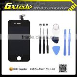 Factory price For iPhone 4 4S 3.5 inch framed lcd screen replacement parts