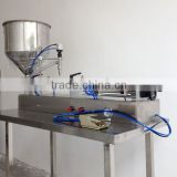 soda pet bottle filling machine/liquid filling machine semi automatic/table top filling machine