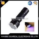 Large Coverage Area Black Light 100 Leds Ultraviolet UV Torch Best Scorpion Purple Light Blacklight UV Led Flashlight