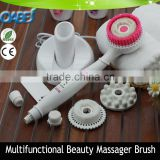 factory OEM electric face massage brush for home use vibrating massage shower head brush