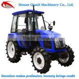 Economical and Practical QLN 704 70hp 4wd modern new chinese tractors backhoe attachment