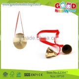 2015 New Baby Toys Percussion Instrument Copper Gong Music Mini Toys