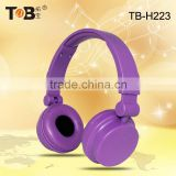 Promotional 2015 Most Popular Stereo Headphone Factory for Foldable Headset Stereo Headphone, noise cancelling headset