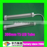 high quality smd2835 ce rohs t5 twin tube light fitting with reflector