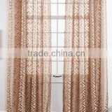 made to order elegant burn out sheer curtain and drapes
