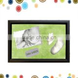 High quality baby footprint kit for baby souvenirs