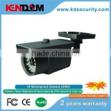 Kendom Analog security camera SONY CCD or CMOS sensor bullet security camera 3-Axis design of bracket outdoor camera