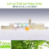 Newarea hotel bathroom amenities supplies 30ml with screw cap g2404 shampoo bath gel conditioner body lotion