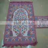 Muslim prayer rug Carpet with bag BT-601