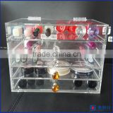 New product! best selling acrylic makeup organizer / clear make up organizer acrylic stands                                                                         Quality Choice