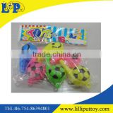 Creative design funny football shape colorful whistle