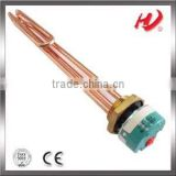 water heating element with immersion thermostat
