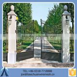 2015 Decorative Used Removable Metal Gate/Iron Gate/Steel Gate For Garden Home