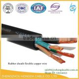 BV / BVR / ZR-BV / ZR-BVR / NH-BV 2 core 4mm LSZH Flame retardant PVC Insulation ground cable 25mm2 thw wire 600V