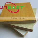 2mm white melamine MDF board,high gloss acrylic mdf boards/high gloss melamine faced mdf fiberboard