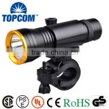 Brightest 10W T6 Front Bike Light LED XML With 360 degree Rotate Bicycle Mount