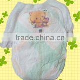 A grade disposable pants colth-like film diaper with blue chip/ADL baby grow up panties diaper