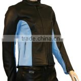 Ladies Fashion Brando Style Motorcycle Leather jacket, Women Biker brando jacket, OEM/ODM Customize