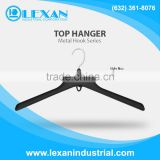 "3328/3329 - 18"" Plastic Hanger with Metal Hook for Tops, Shirt, Blouse (Philippines)"