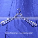customized acrylic bulk clothes hangers