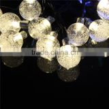 led lightfor outdoor christmas wedding party holiday decoration solar and bettery air bubbles ball fairy string light