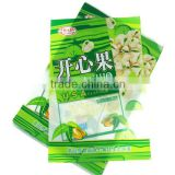 Colorful printed pistachio nuts PET/PE/OPP plastic packaging bags,customized are accepted