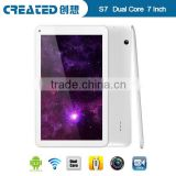 "1024*600 Rochchip 3028 Dual core 1.2GHz Android 4.2 7"" android tablet double din car dvd player"