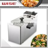 Most Popular Stainless Steel 4L Deep Fat Fryer Mechanical Type Professional Kitchen Equipment
