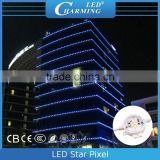 Off-line control led lights, outside wall / bridge using lighting