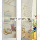 Aluminum frame fiberglass insect screen door/Fiberglass insect screen door/fiberglass insect screen