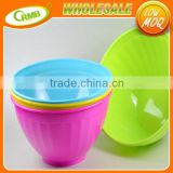 Vegetables Eco-Friendly Food Grade Kitchen Cooking Tools Plastic Pots Of Ice Cream Bowls Fruit Salad Bowl