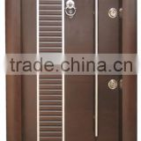 Turkey Armored Door / New design steel wooden armored door