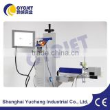 New Designed Fiber Cable Laser Marking Machine in Pipe Area