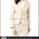 khaki color classic women suits