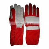 UEI-21016 red/white Karting gloves, Go kart gloves, Kart racing gloves, kart sports gloves, kart gloves