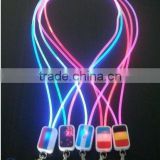 Company Birthday Good Gift Led Emitting Lanyard Night Light For ID Card Key Lanyard Neck Strap