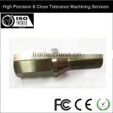 High Precision & CNC Lathe Machine Working Steel/Aluminium/Copper(Brass)/PA/PEEK Processing Custom Steel Titanium Crews
