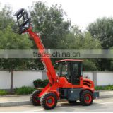 Telescopic Earth Moving Equipment Front End Loader Agriculted Mini Wheel Loader oj1500