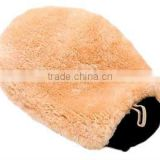 100% Durable Soft Australian Merino Double-sided Sheepskin Wool Wash Mitt