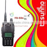 FEIDAXIN FD-880 amateur with FCC certisfication 5w railroad two way radio remote speaker mic