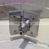 China Door Hinge manufacturers dual folding side Frameless Glass Door Hing /stainless steel pins