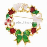 Hot sale amazon cheap christmas style jewelry korean brooch