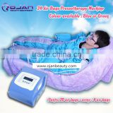 Infrared Pressotherapy 24 cells(pants+jacket) 2016 body massage weight loss beauty equipment