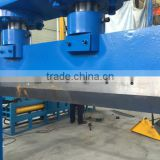 Hydraulic film roll cutter/ hydraulic plastic lump cutting machine/ vertical cutting machine